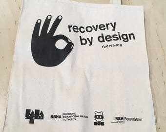 Recovery by Design: Tote Bag