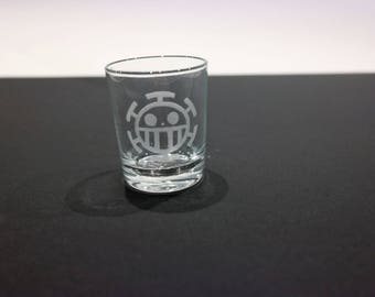 Glass shot One Piece - crew of the Heart
