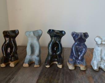 Stoneware Bear