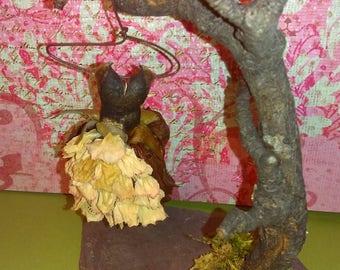 "The ""Crazy About Crinoline"" Miniature Faerie,Fairy,Fae Dress/Clothes"