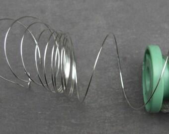 Sterling silver wire - 20gauge - 0.81mm - half-hard - round - 30cms (12-inch) lengths - UK seller