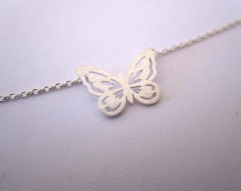 Necklace minimalist Butterfly