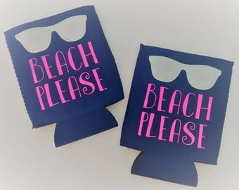 Beach Please Can Cooler