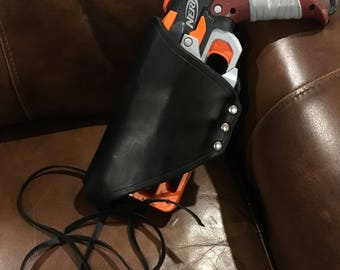 Nerf Hammershot Leather Thigh Holster