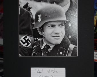 Robert Clary autograph signed index card and matted to the size of 11x14 Hogan Heroes