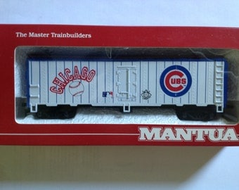 Ho Train Car MLB Chicago Cubs new in box