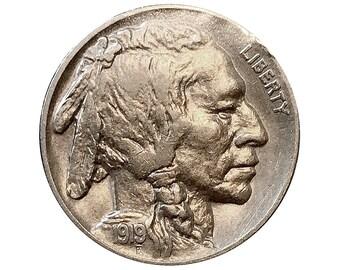 1919 P Buffalo Nickel - Choice BU / MS / UNC