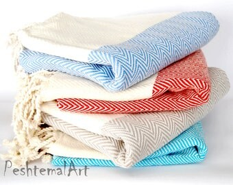 Herringbone Turkish Towel, Beach Towel, Peshtemal, Pool Towel, Fouta, Turkish Towels, wholesale bridesmaid gift, unique-gift-for-wife, blk