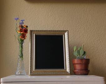 Light Gold Framed Chalkboard
