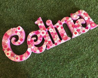 Freestanding Button Names - 6 letters