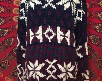 SUPER cozy 1980s sweater