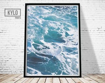 Ocean Print, Digital Print, Wall Art, Printable Art, Instant Download, Photography Print, Photography Poster, Ocean Printable, Sea Art Print