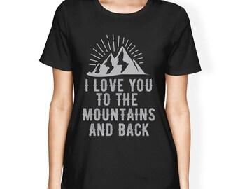 Mountain And Back Women's T-Shirt [JCT271]