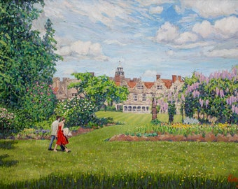 A Stroll at Knole