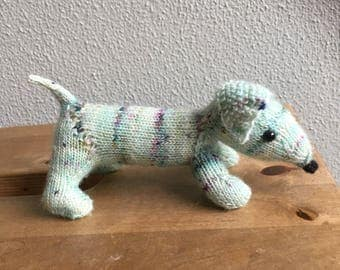 Knitted Dachshund