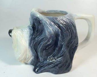 Bearded Collie 3D Mug