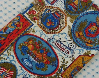 Kitschy, Colonial Liberty Themed Fabric - 4 yds
