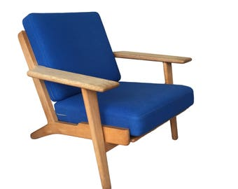 Hans Wegner GE-290 Plank Chair in Oak