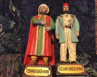 Ottoman sultan figurines