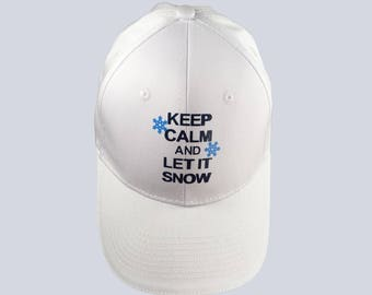 Cap, keep Calm And Let It Snow, Hat