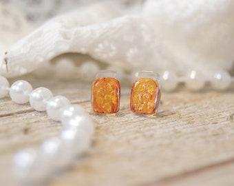 Mason Jar Earrings | Handpainted | Mason Jars | Handmade Jewelry | Earrings | Stud Earrings | Acrylic