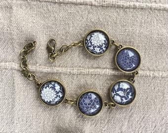New retro blue bracelet