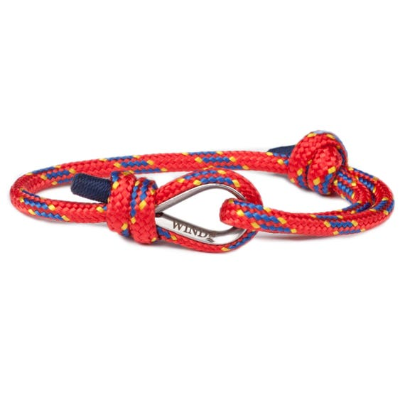 RED BRACELET - wrist bracelet, arm bracelet, womens bracelets, power bracelet, power rope bracelet, paracord bracelets, outdoors bracelet