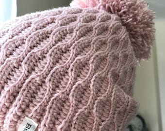 Women's Hat, Women's beanie, Pink Hat