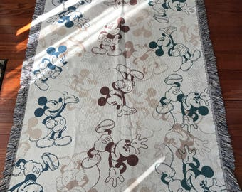 Disney Parks Authentic Original Mickey Mouse Throw Rug