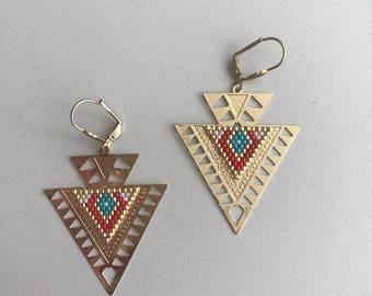 Kay ∎ earrings - Native American Style