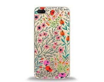 Floral phone case, floral iphone case, floral cases, cute phone cases, iphone 6 case, samsung phone case, silicone phone case, htc case, lg