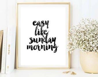 Easy like sunday morning prit