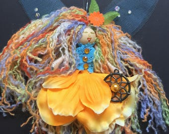 Fairy Doll Dream Catcher Willow Worry Doll bad dreams nightmares