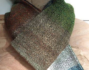 Handwoven Noro Scarf