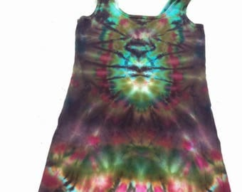 Medium ice dyed top