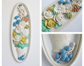 Syroco Floral Wall Decor