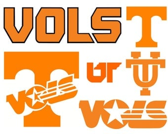 Tennessee Vols svg, Tennessee volunteers svg, University of Tennessee svg, dxf, cricut, silhouette cutting file, download, svg files