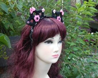 Kawai Crown hairband for Harajuku, Fairy kei, Decora style