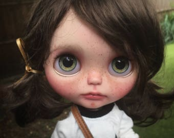 RESERVED in Layaway for Elizabeth Pepper OOAK custom Blythe art doll by Filipa Nóbrega
