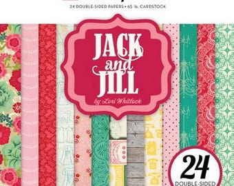 24 papers 15.2 x 15.2 cm ECHO PARK JACK AND JILL