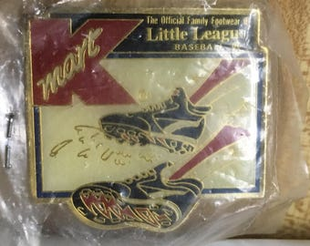 Vintage K mart Little League Baseball Pin