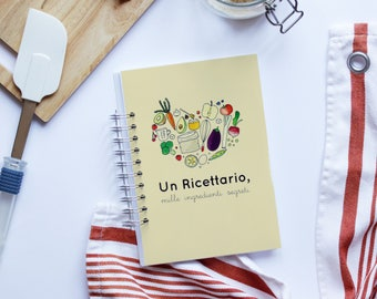 NEW-a recipe book, a thousand secret ingredients A5