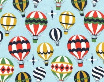 5 Yard Cut - Michael Miller - Hot Air Balloons - Juvenile