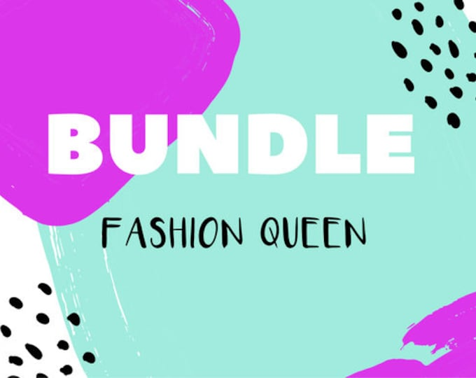 The 'Fashion Queen' Earring Studs Gift Bundle