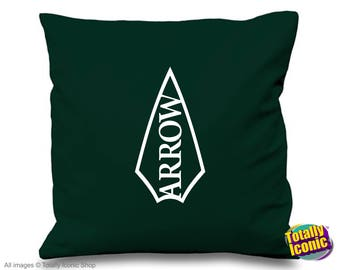 The Green Arrow - TV Series Inspired Cushion/Pillow Cover - Oliver Queen - DC Comic Book Hero