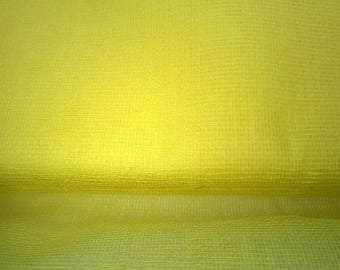 TARLATAN 100% cotton yellow width 130cm