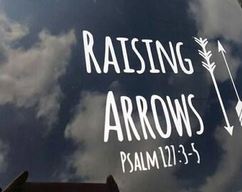 RAISING ARROWS DECAL