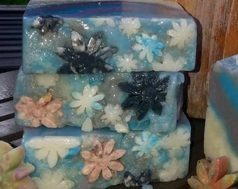 Handcrafted Crisp Cotton Soap