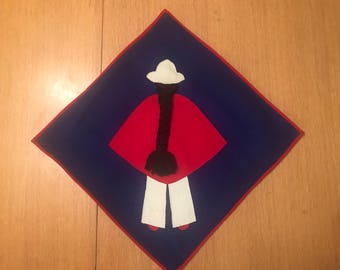 Ecuadorian folk art pillowcase