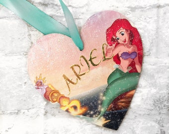 THE LITTLE MERMAID plaques